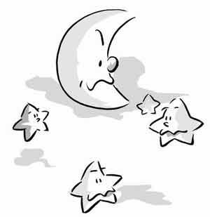 月亮妈妈和星星孩子
